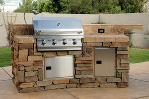 Build an Outdoor Kitchen Grill Near Apache Junction
